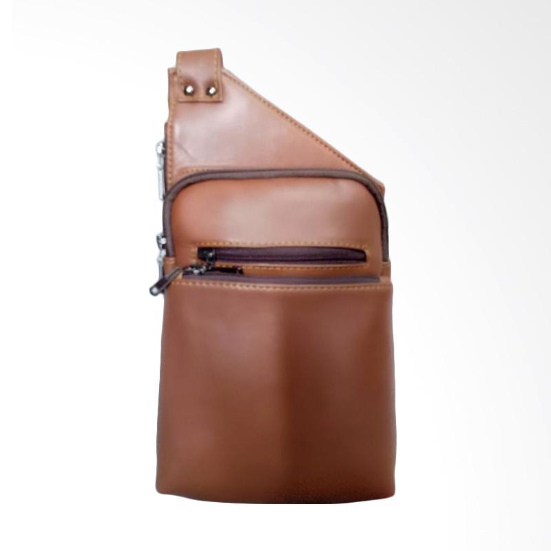 Hunter Design Tas Selempang Pria - Cokelat Tan [026]