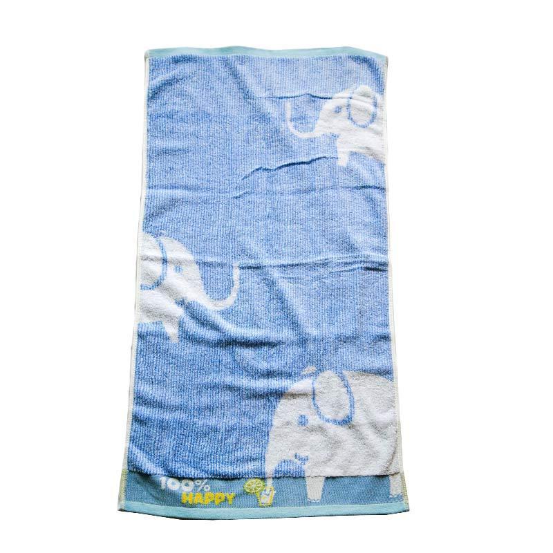 Dixon Happy Elephant 7066 Handuk Sport - Blue [35 x 80 cm]