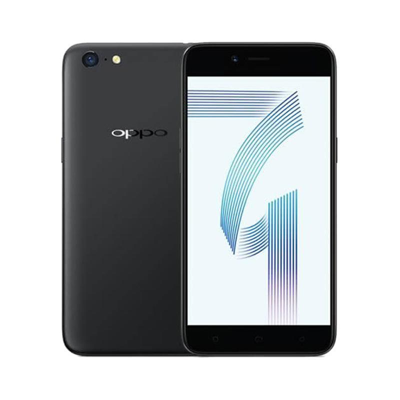 OPPO A71 2018 Smartphone - Black [16 GB/2 GB]