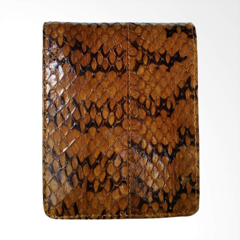Zamrud Cobra Snakeskin Wallet Dompet Pria - Yellow