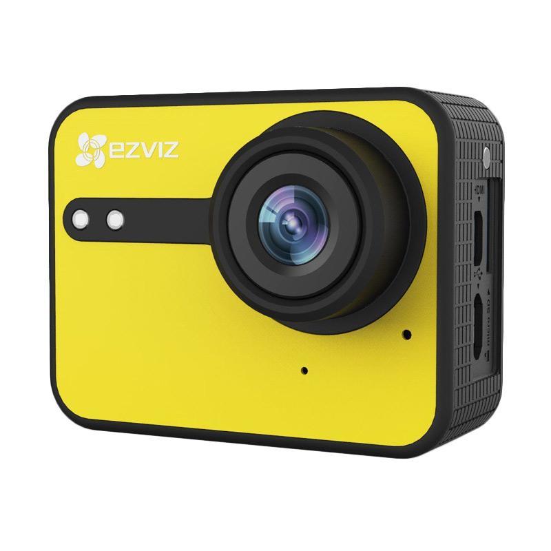 Ezviz S1C Sport Action Camera - Yellow