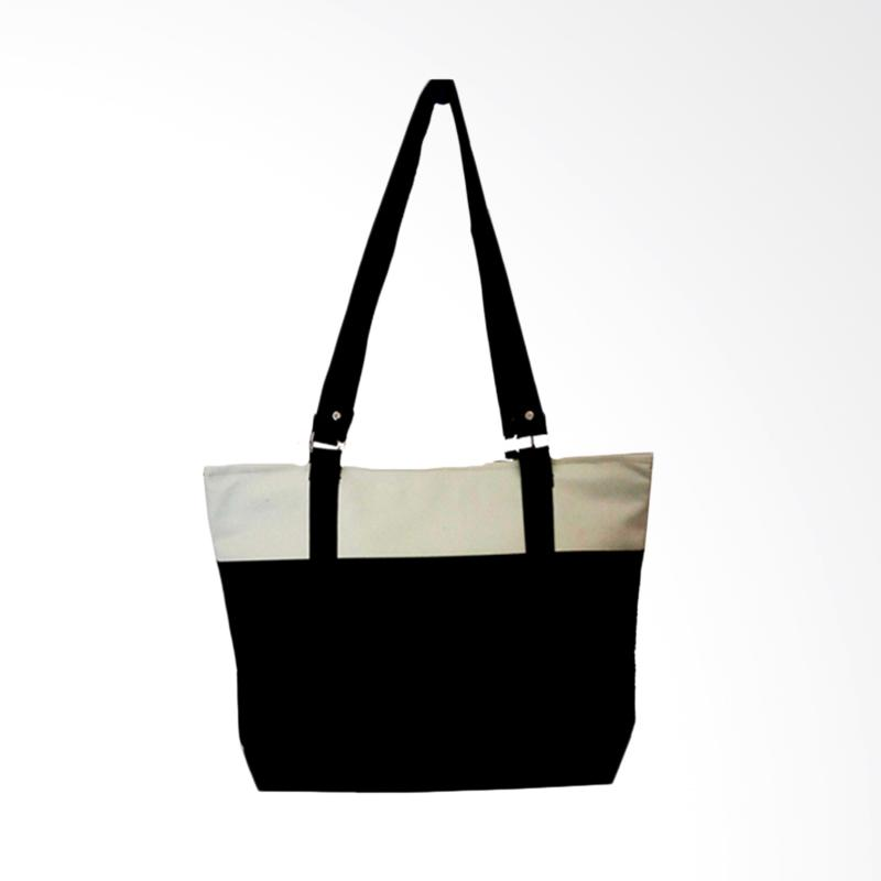 Donker Tote Bag - Beige Black Ring