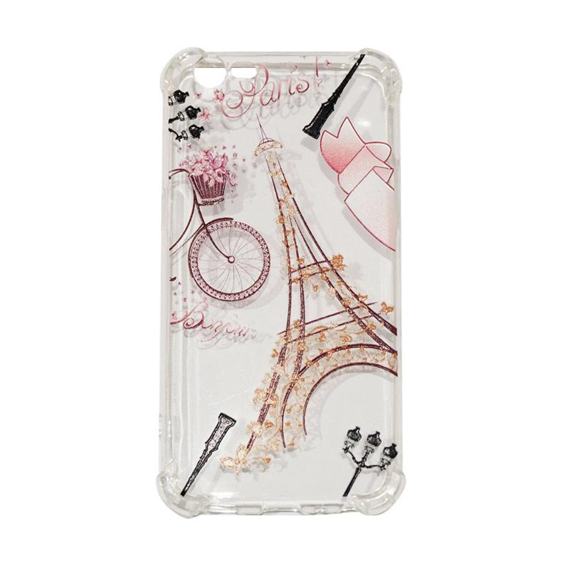 QCF Paris Anti Crack Anti Shock Silikon Softcase Casing for Oppo A57