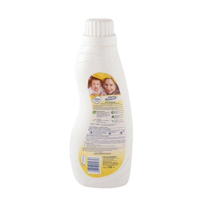 Cussons Baby Liquid Detergent with Antibacterial [750 mL]