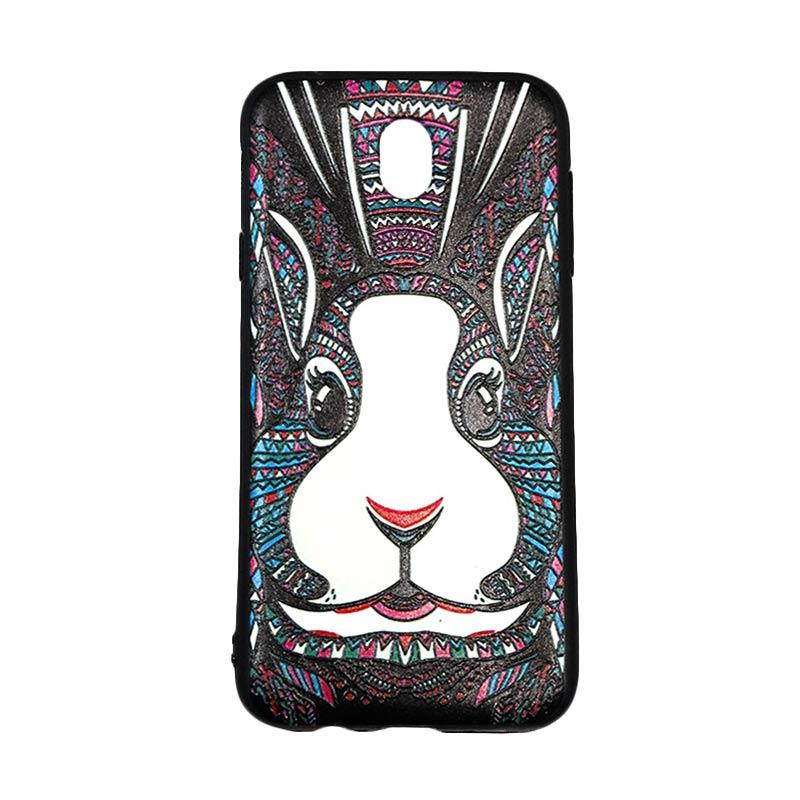 QCF Luxo Rimba Rabbit Silikon Softcase Casing for Samsung Galaxy J7 Pro 2017 or J730
