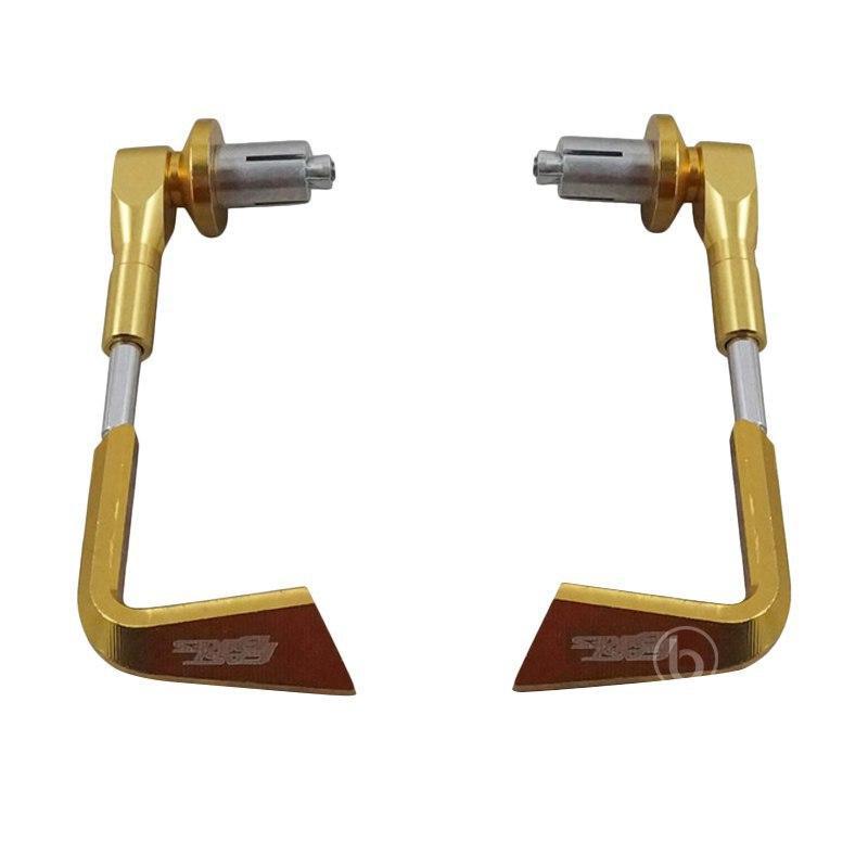 harga Fast Bikes CNC Variasi Hand Guard Motor for Honda All New CB150R - Gold Blibli.com