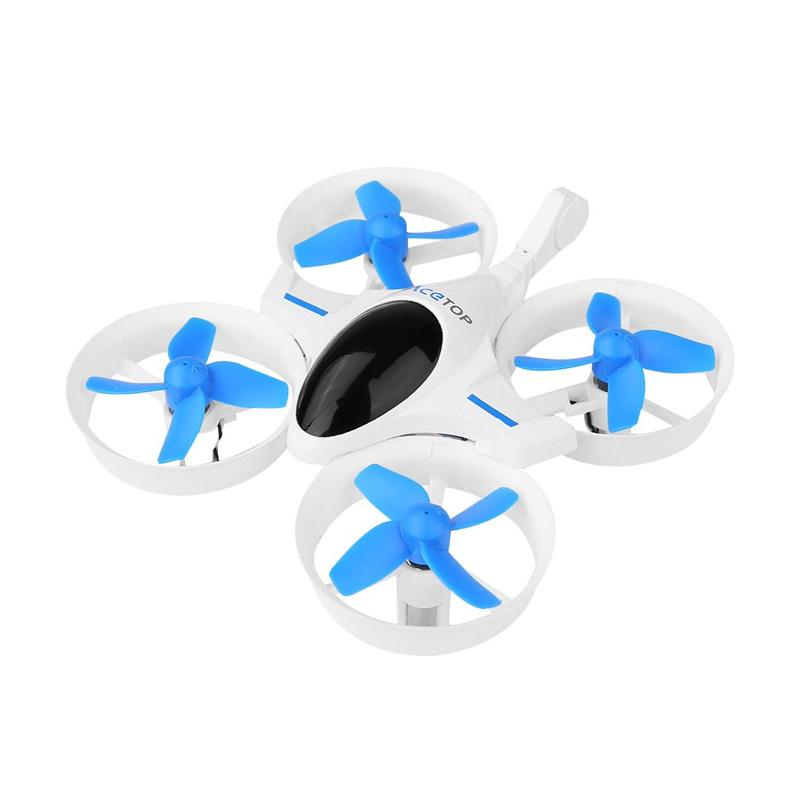 JJRC Egy Acetop Quadcopter Drone - Baby Blue Off White