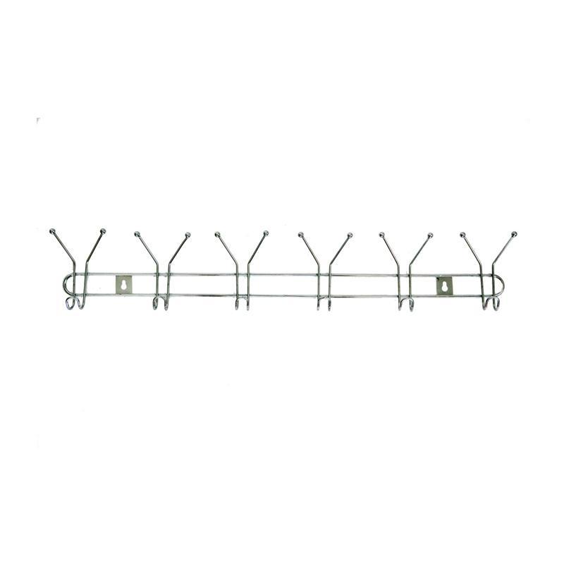 HAN 3017 Stainless 6 Wire Gantungan Baju - Perak