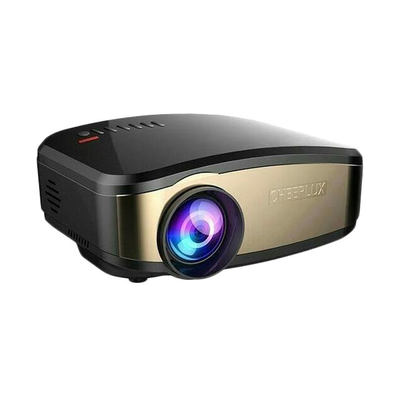 harga CHEERLUX C6 WiFi Edition Mini Portable Projector [Anycast/TV Tuner/1200 Lumens] Blibli.com
