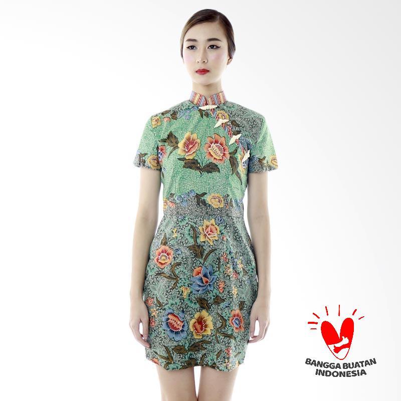 harga Dhievine Batik Astami Gendongan Dress Wanita - Green Blibli.com