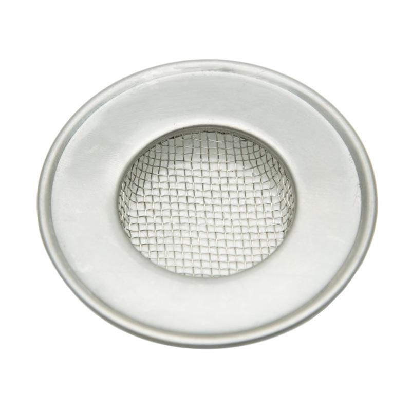 OEM FSW6 Stainless Filter Saringan Wastafel - Perak [6.5 cm]