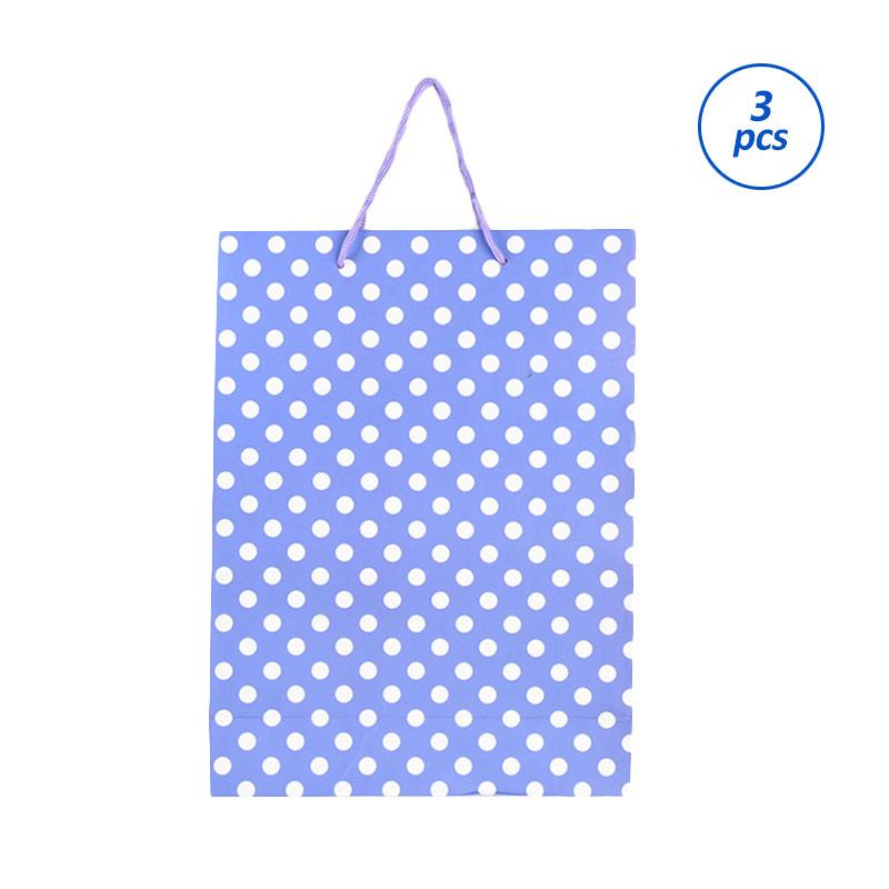 Karisma 740560 Kemeja Polkadot Shopping Bag - Ungu [3 pcs]