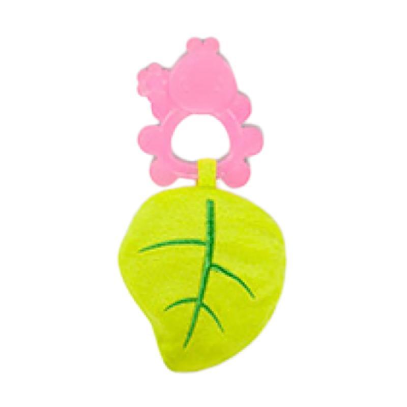 Bright Starts Beanie Bites Mainan Bayi - Pink Green