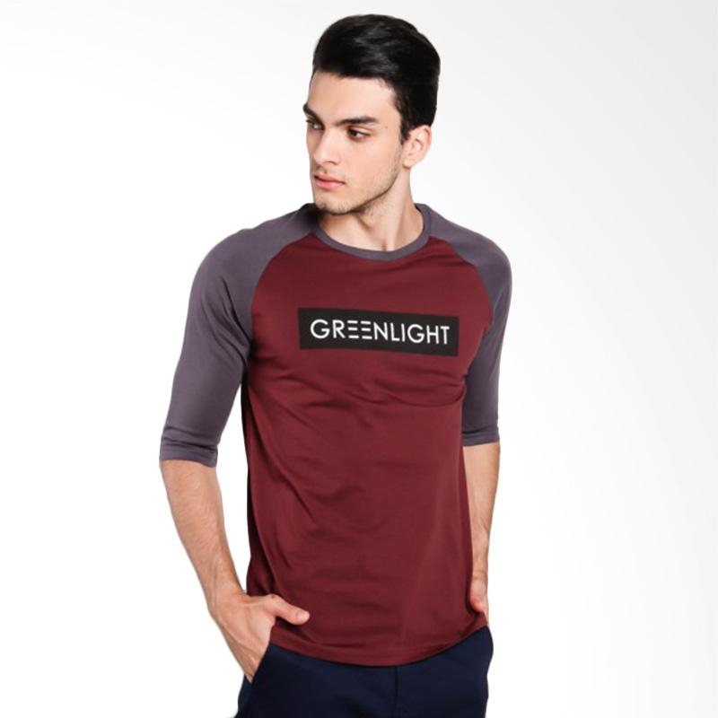 Greenlight Men 6212 T-Shirt Pria - Grey [262121712]