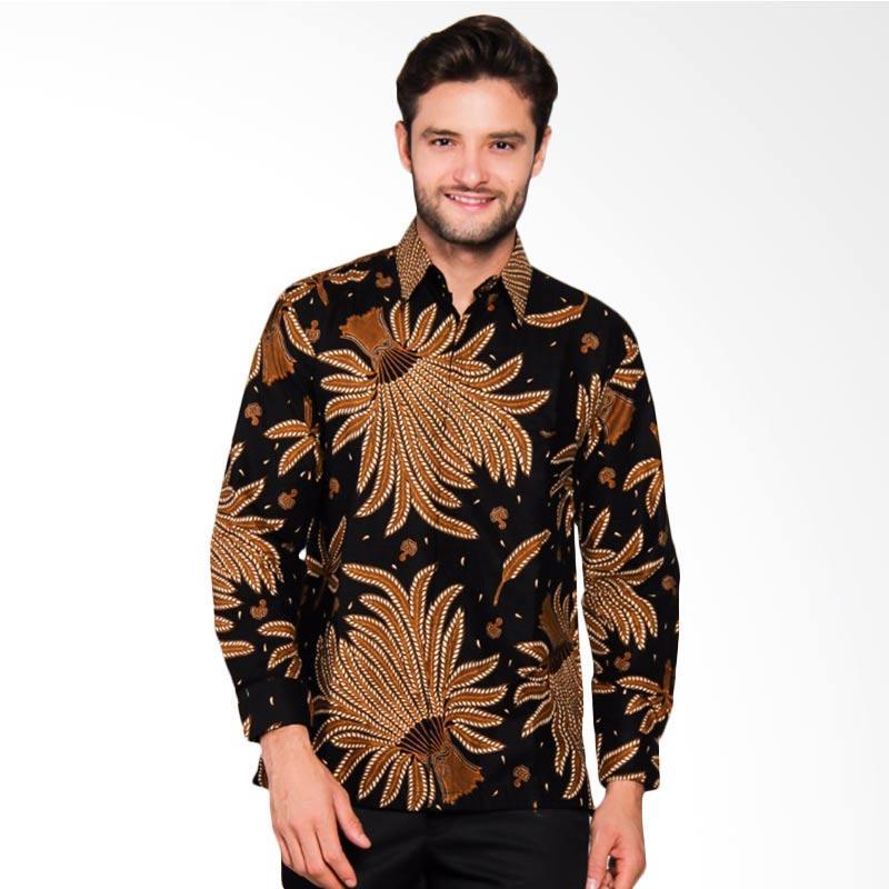 Adiwangsa Model Modern Slim Fit Baju Kemeja Batik Pria [032]