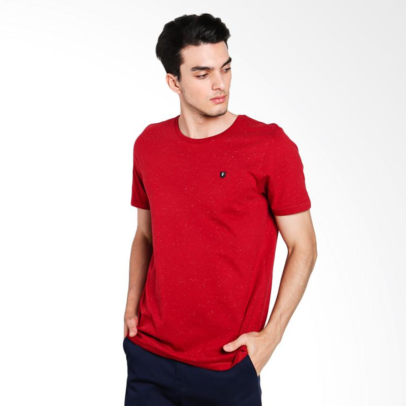 Famo 1412 Men T-shirt - Red