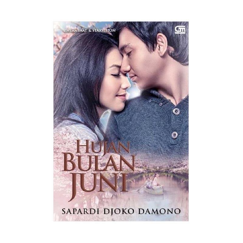 Gramedia Pustaka Utama Hujan Bulan Juni by Sapardi Djoko Damono Buku Novel
