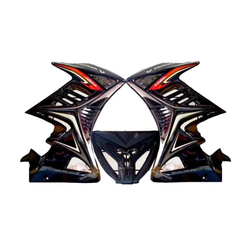 Raja Motor Sayap Half Fairing for Yamaha Vixion NVL - Hitam [DEM3024-Hitam]