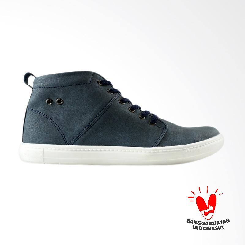 Dane And Dine Zambi Sepatu Pria - Navy
