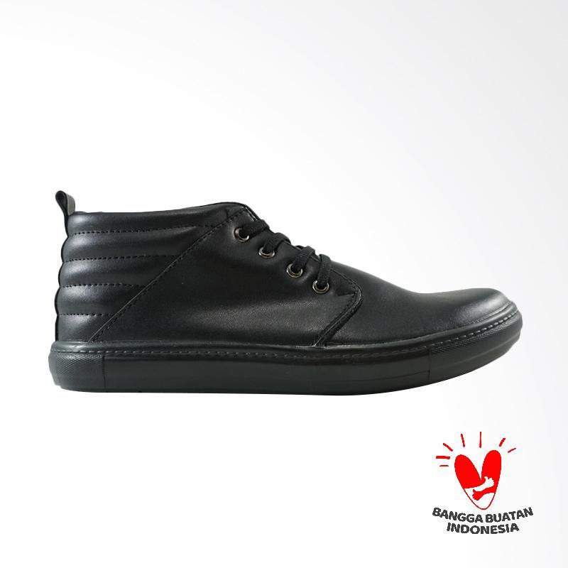 Dane And Dine GRET Sepatu Sneaker Pria - Black