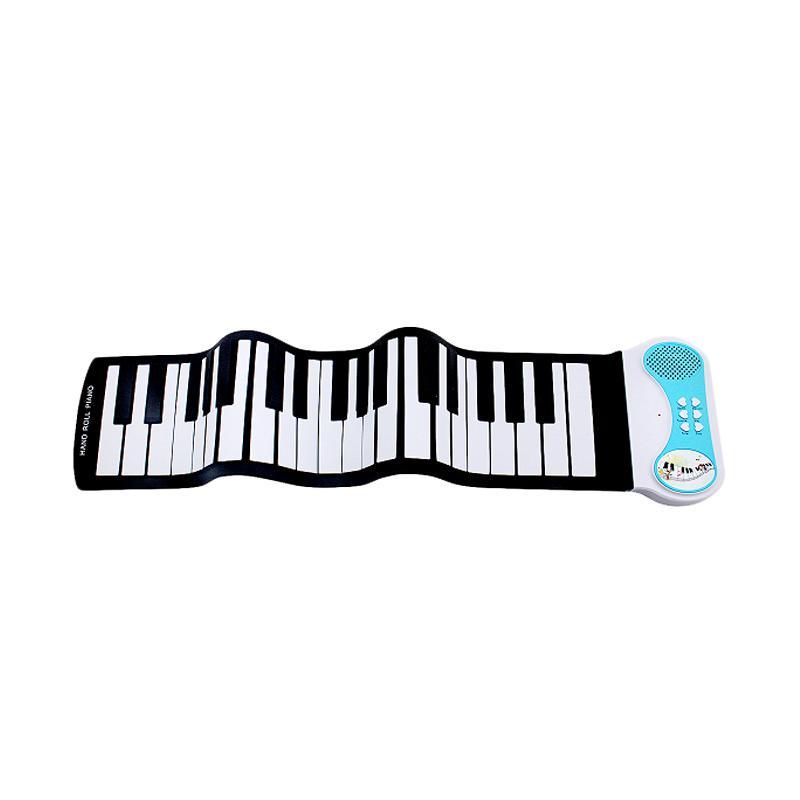 Tokokadounik Home Flexible Silicone Piano - Black White