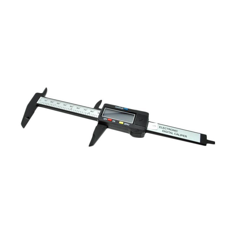 harga OEM Vernier Caliper Jangka Sorong Digital with LCD Screen Carbon Fiber Blibli.com