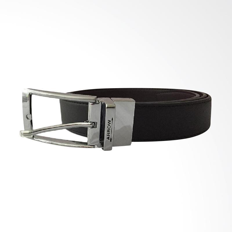 Arrow Leather Belt Ikat Pinggang Pria  - Black [BP-AR2124TPP-B35-3135]