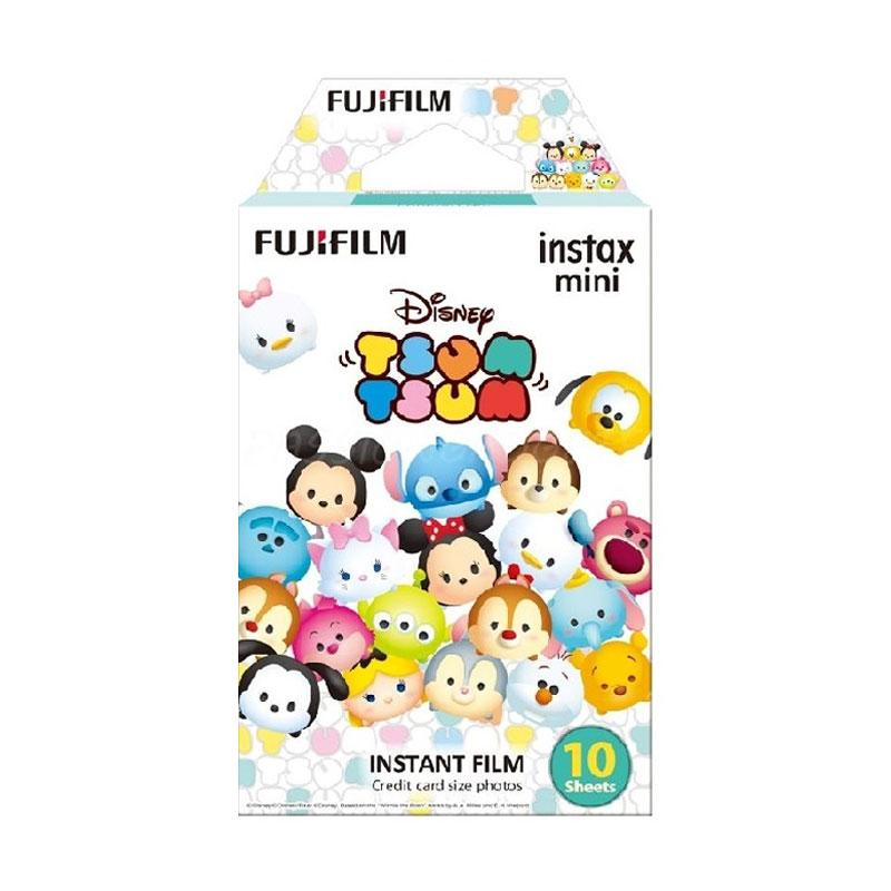 Fujifilm Disney Tsum Tsum Film Refill Instax Mini Kamera Polaroid [10 Lembar]