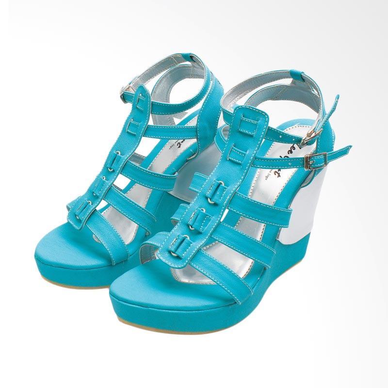 harga BSM SOGA BSP 327 Sepatu Wedges Wanita Blibli.com