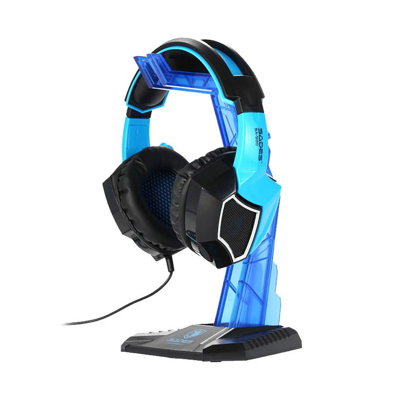 harga Sades Universal Gaming Headphone Hanger - Blue Blibli.com