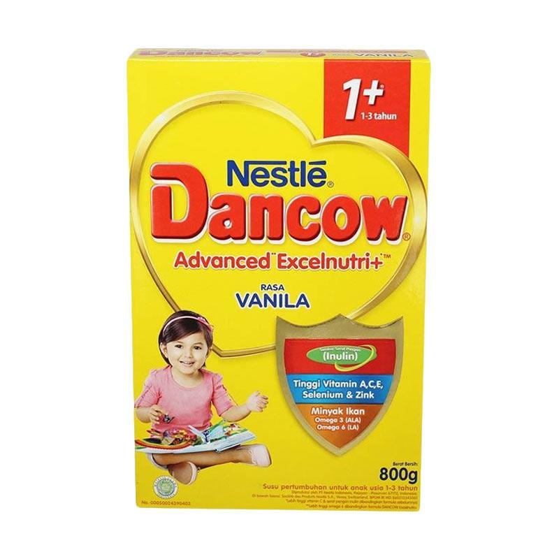 Nestle Dancow 1+ Vanila Susu [6 Box/@800 g]