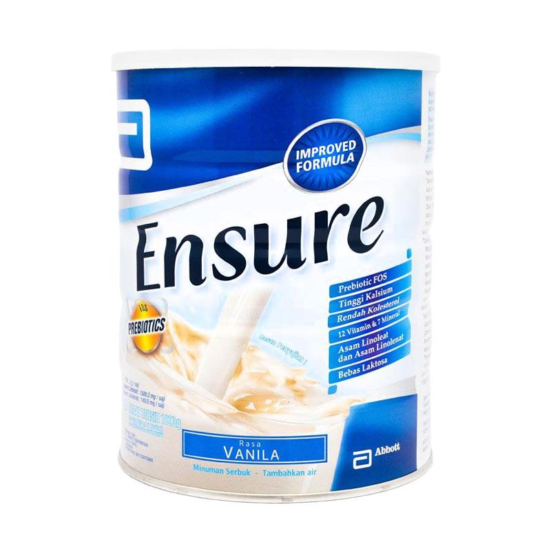 harga Abbott Ensure Fos Vanila Susu Formula [1 kg] Blibli.com