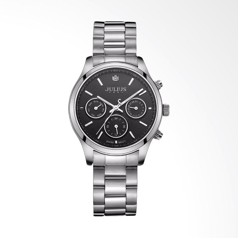 Julius JA-946-B Jam Tangan Wanita - Silver Black