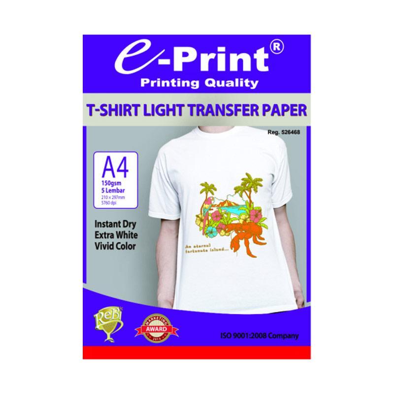 Beli mediatech 34051 light fabric t shirt inkjet transfer paper beli e print t shirt transfer light photo paper a4 150 gsm malvernweather Choice Image