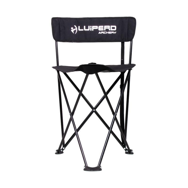 Luiperd Archery Foldable Chair - Black