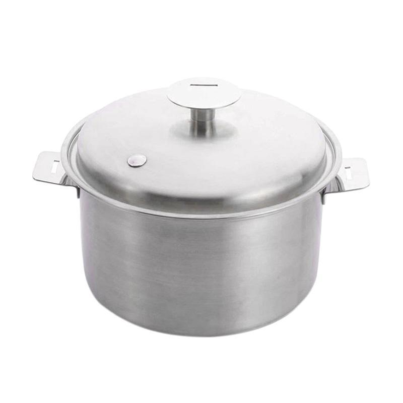 harga Cooks Habit Detachable Waterless Covered Saucepan Panci [16 cm/ Tanpa Gagang dan Kuping] Blibli.com