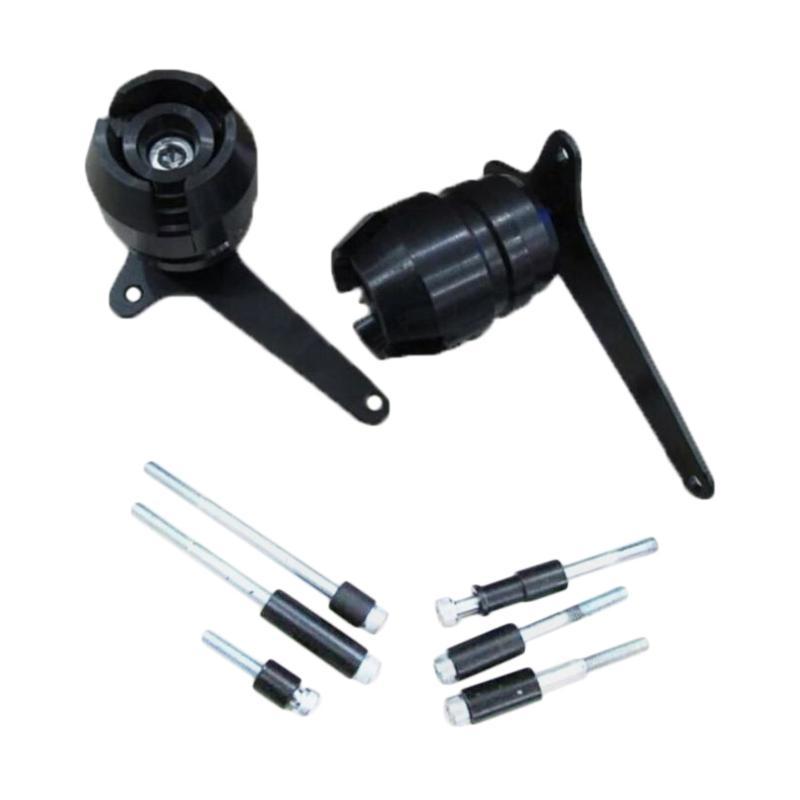 Raja Motor Frame Slider for Yamaha R15 V2 dan V3 - Hitam [DKR-BODY-R15V2V3]