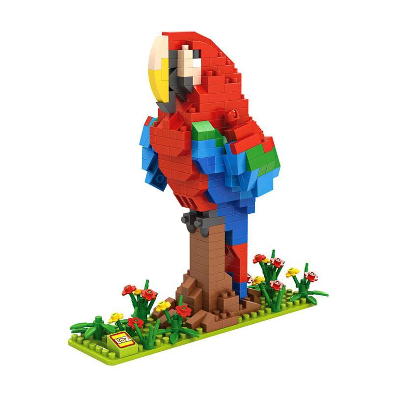 Loz Diamond Block Large 9547 Parrot Mini Blocks