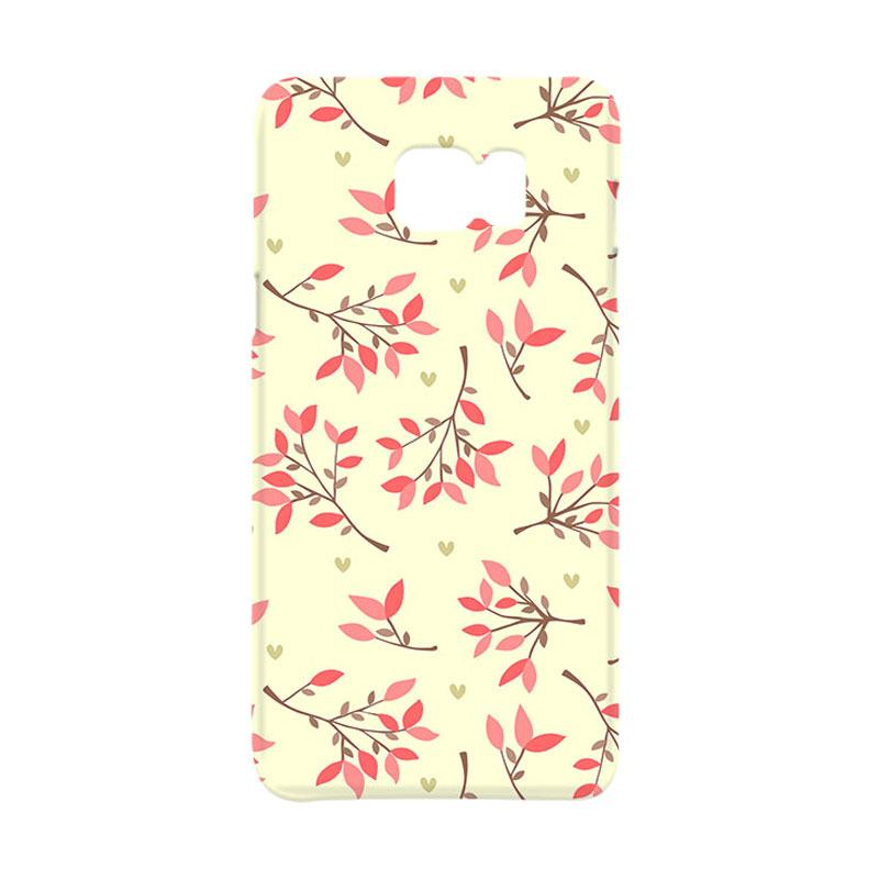Premiumcaseid Cute Floral Seamless Shabby Hardcase Casing for Samsung Galaxy Note 5