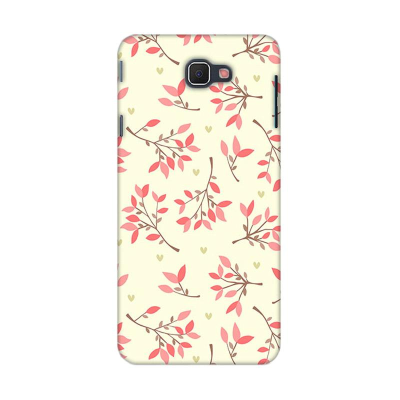 Premiumcaseid Cute Floral Seamless Shabby Hardcase Casing for Samsung Galaxy J5 Prime