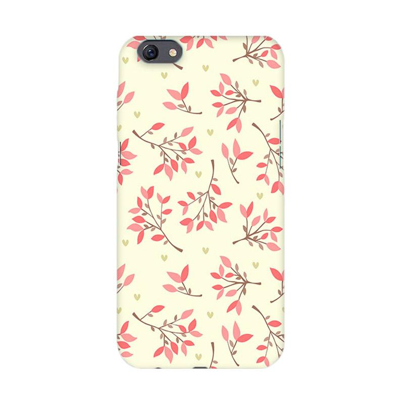 Premiumcaseid Cute Floral Seamless Shabby Hardcase Casing for Oppo F3 Plus or R9s Plus