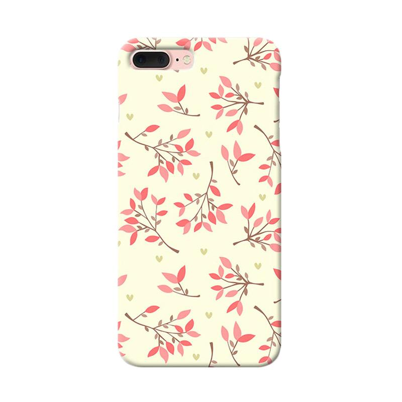 Premiumcaseid Cute Floral Seamless Shabby Hardcase Casing for iPhone 8 Plus