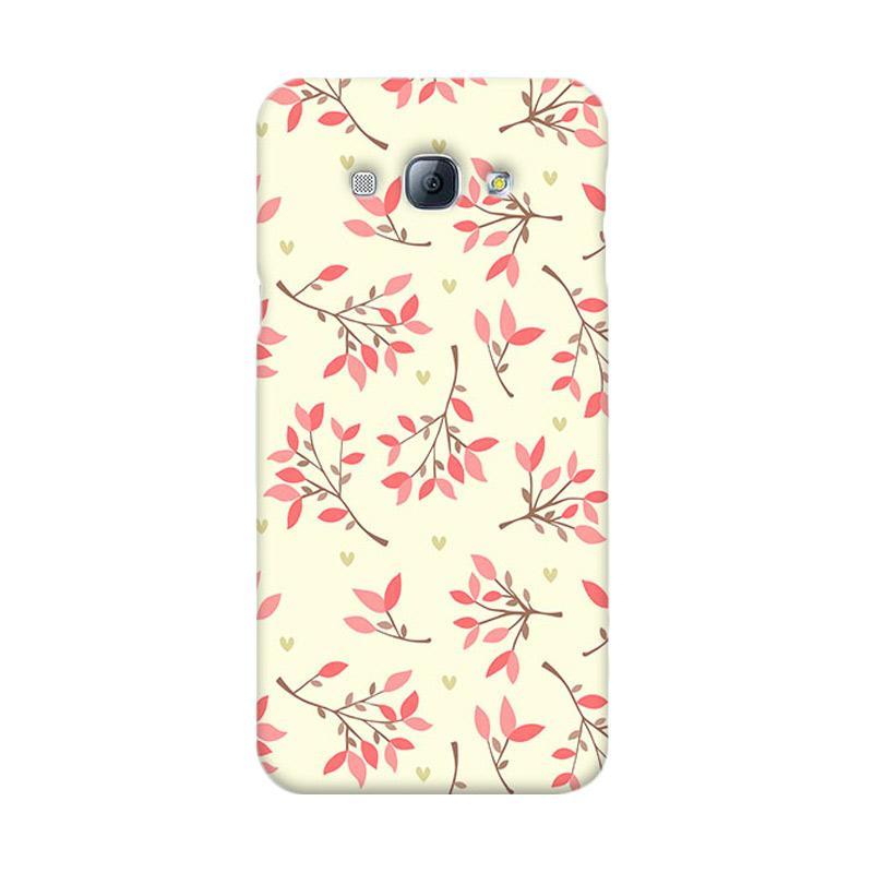 Premiumcaseid Cute Floral Seamless Shabby Hardcase Casing for Samsung Galaxy A8
