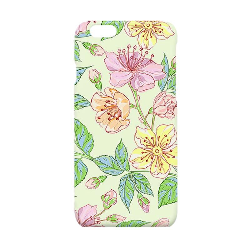 Premiumcaseid Beautiful Flower Hardcase Casing for iPhone 6 or iPhone 6s