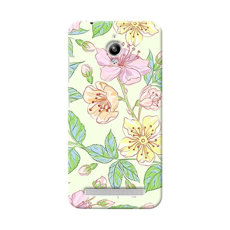 Premiumcaseid Beautiful Flower Wallpaper Hardcase Casing for Asus Zenfone Go