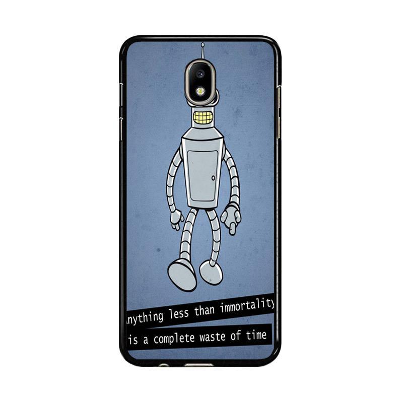 Flazzstore New Rare Futurama Bender Z0942 Custom Casing for Samsung Galaxy J7 Pro 2017