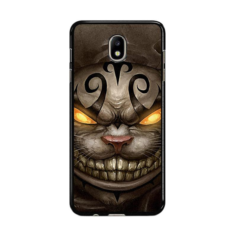 Flazzstore Alice Madness Returns Cheshire Cat Z0999 Custom Casing for Samsung Galaxy J5 Pro 2017