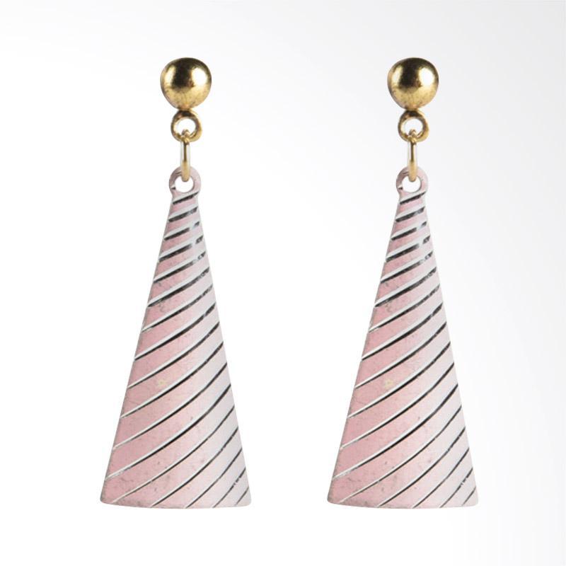 1901 Jewelry Beyulian Pinky G0440185.GW27PI Giwang Women Earrings - Pink