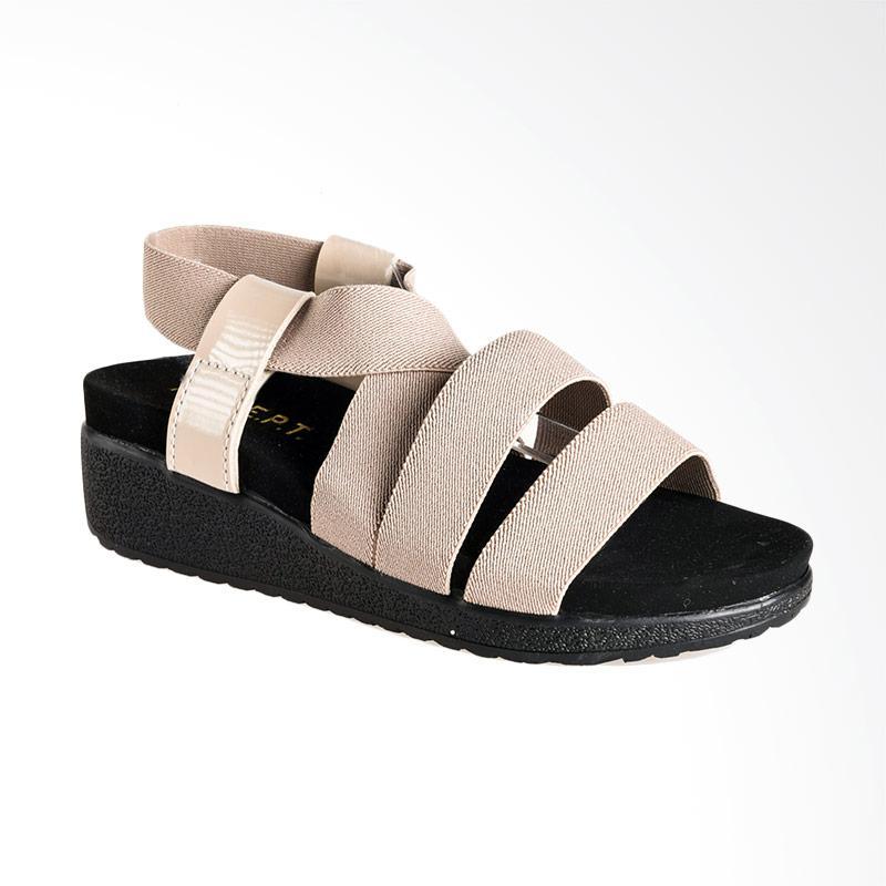 A.C.C.E.P.T. Denta Sandal Platform Wanita - Cream