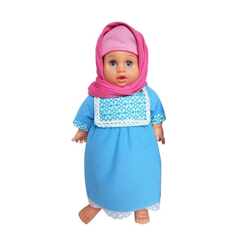 7L Anisa Hijab Perfumed Doll - Blue
